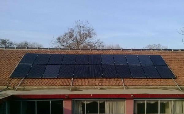 5kw分布式光伏电站实现并网发电.