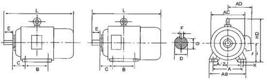 yej系列制动电机技术数据