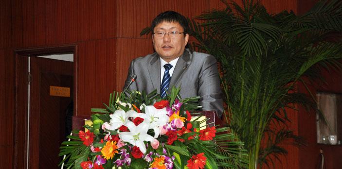 董事长、总经理王志国致词