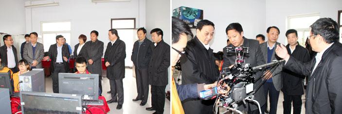 河南省农业厅厅长朱孟洲到全丰生物调研指导工作